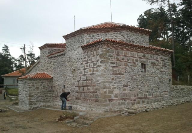 Старата баня в Долна Баня